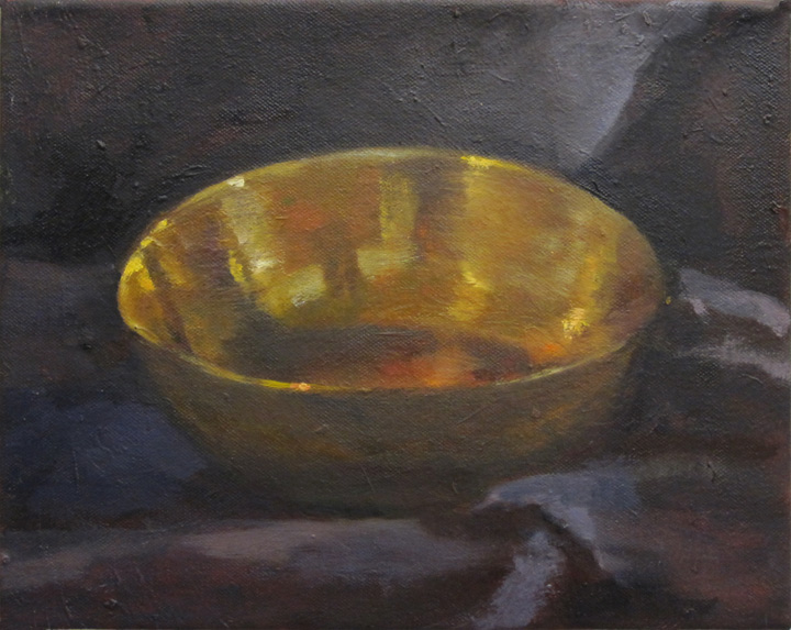 Oil Painting Of Soup